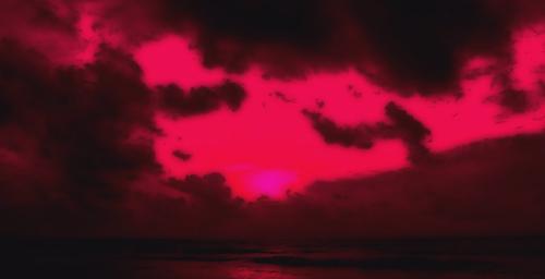 Airbrushed Windy Sunrise
