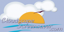 Cloudscape Screensaver